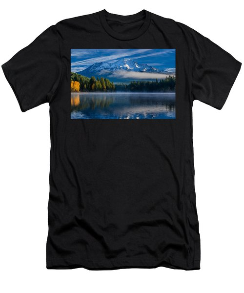 Morning At Siskiyou Lake Men's T-Shirt (Athletic Fit)