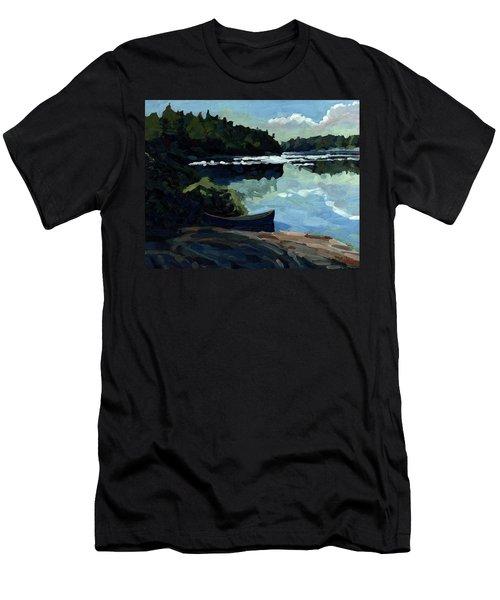 Morning Beach Men's T-Shirt (Athletic Fit)