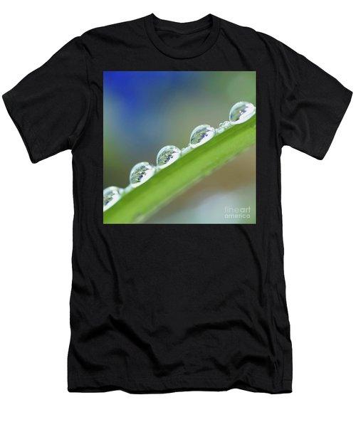 Morning Dew Drops Men's T-Shirt (Athletic Fit)