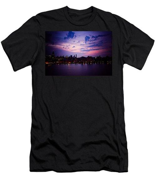 Morning Glory Men's T-Shirt (Slim Fit) by Sara Frank