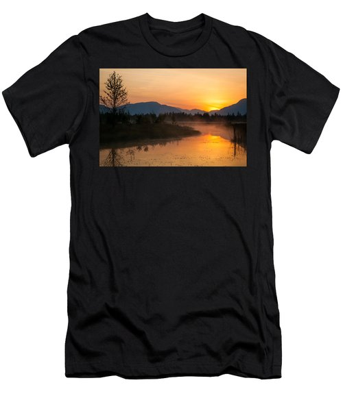 Men's T-Shirt (Slim Fit) featuring the photograph Morning Has Broken by Jack Bell