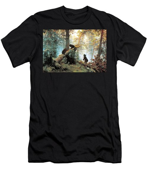 Morning In A Pine Forest Men's T-Shirt (Athletic Fit)
