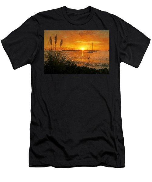 Morning Light - Florida Sunrise Men's T-Shirt (Athletic Fit)