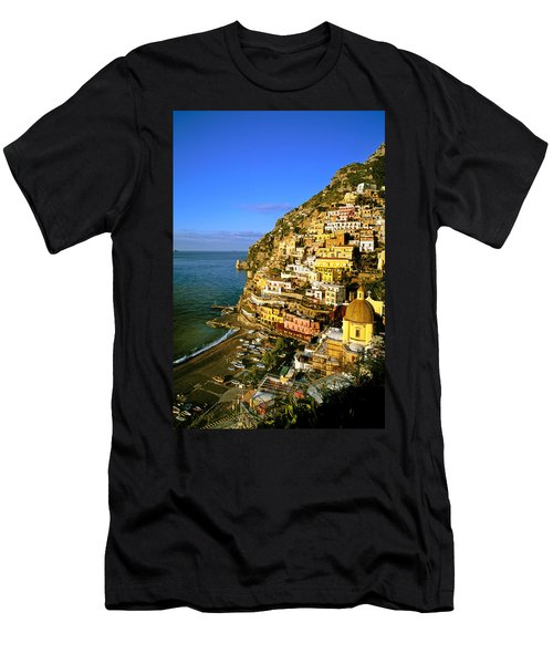 Morning Light Positano Italy Men's T-Shirt (Athletic Fit)