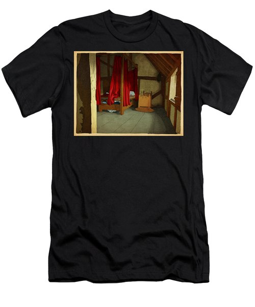 Men's T-Shirt (Slim Fit) featuring the drawing Morning by Meg Shearer