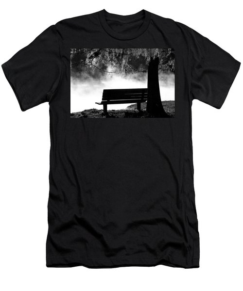 Morning Mist At The Spring Men's T-Shirt (Athletic Fit)