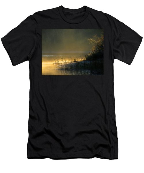 Men's T-Shirt (Slim Fit) featuring the photograph Morning Mist by Dianne Cowen