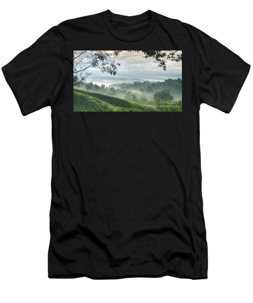 Morning Mist Men's T-Shirt (Athletic Fit)