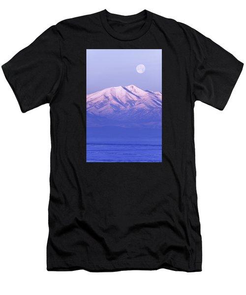 Morning Moon Men's T-Shirt (Athletic Fit)