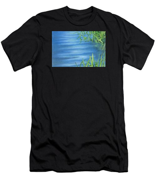 Morning On The Pond Men's T-Shirt (Athletic Fit)