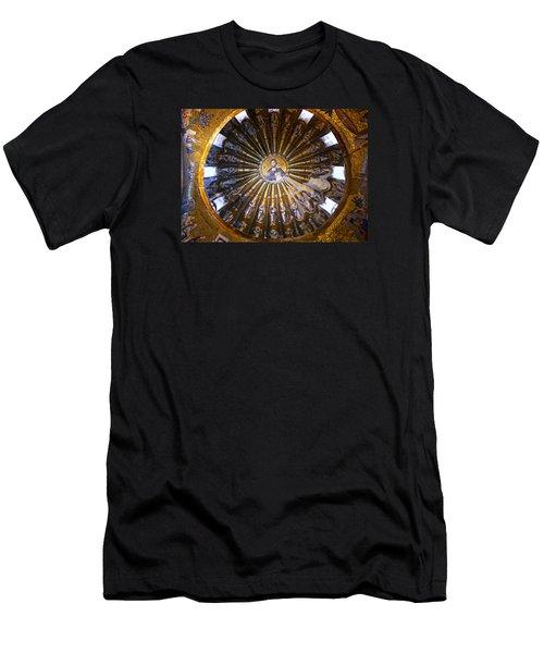 Mosaic Of Christ Pantocrator Men's T-Shirt (Athletic Fit)