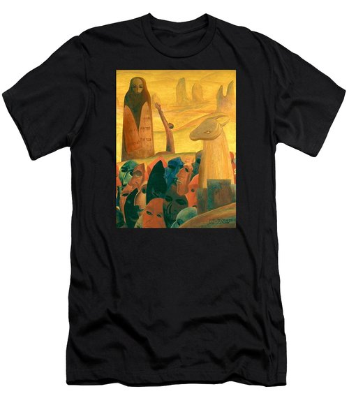Moses And The Masks Men's T-Shirt (Athletic Fit)