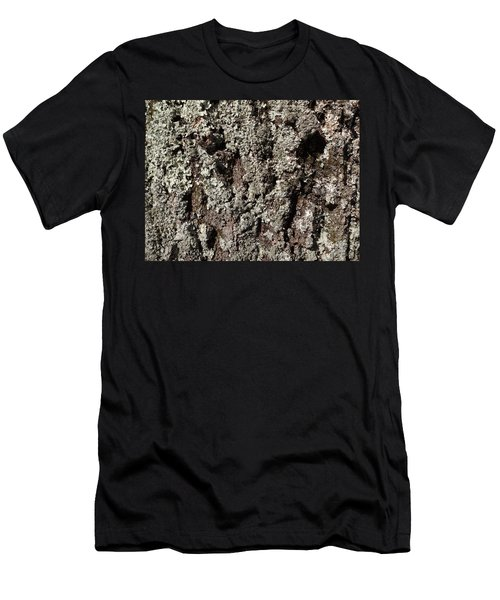 Men's T-Shirt (Slim Fit) featuring the photograph Moss And Lichens by Jason Williamson