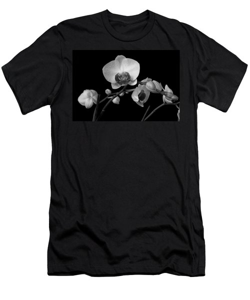 Men's T-Shirt (Slim Fit) featuring the photograph Moth Orchids by Ron White