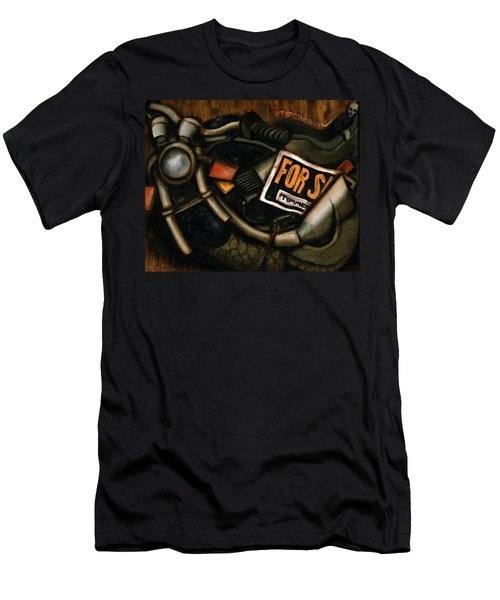 Used Motorcycle For Sale Art Print Men's T-Shirt (Athletic Fit)