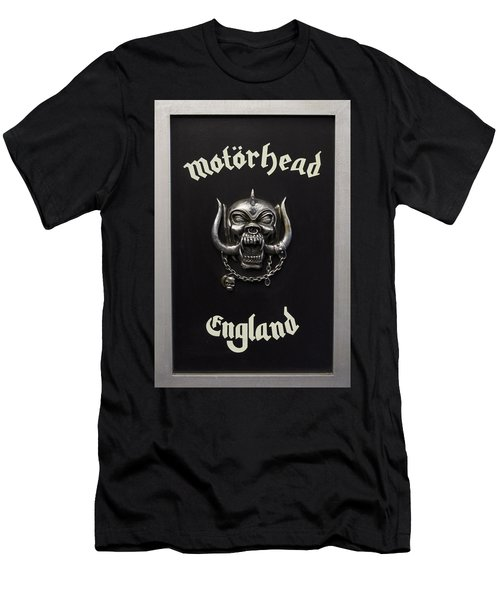 Motorhead England Men's T-Shirt (Slim Fit) by Jerry Cordeiro