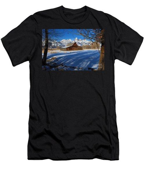 Moulton Barn Men's T-Shirt (Slim Fit) by Adam Jewell