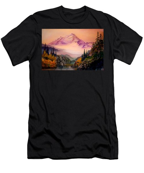Mount Baker Morning Men's T-Shirt (Athletic Fit)