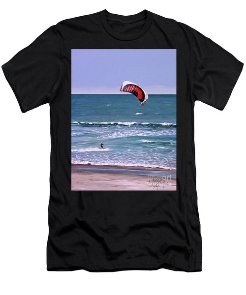 Mount Maunganui 160308 Men's T-Shirt (Athletic Fit)