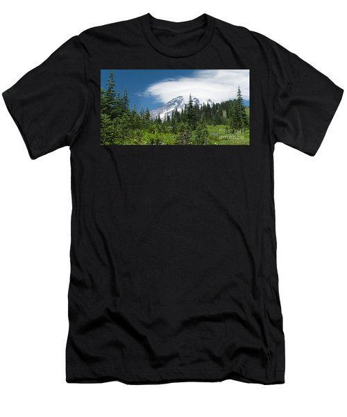Mount Rainier Forest Men's T-Shirt (Athletic Fit)