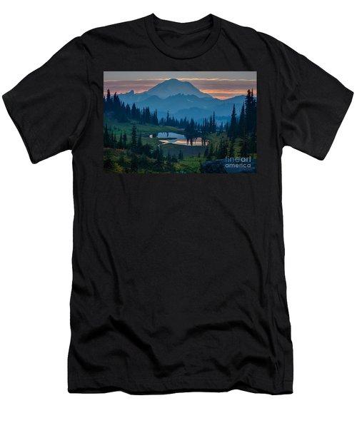 Mount Rainier Layers Men's T-Shirt (Athletic Fit)