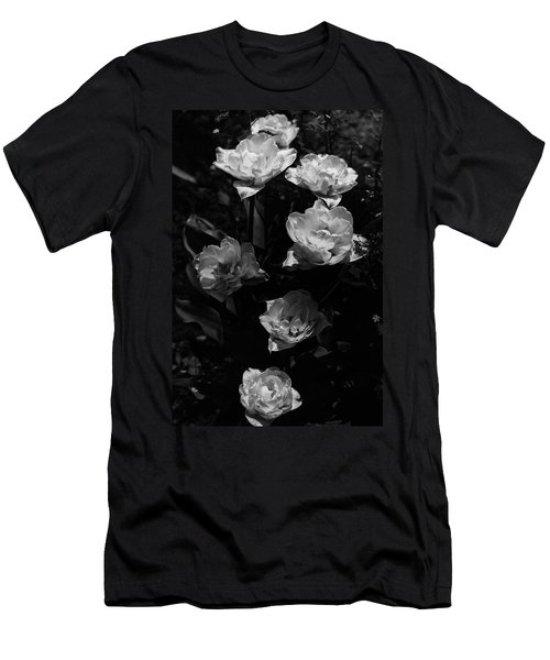 Mount Tacoma Tulips Men's T-Shirt (Athletic Fit)