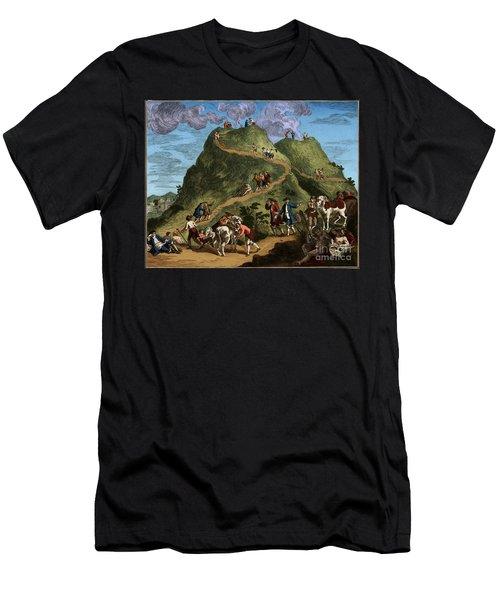 Mount Vesuvius 1750 Men's T-Shirt (Athletic Fit)
