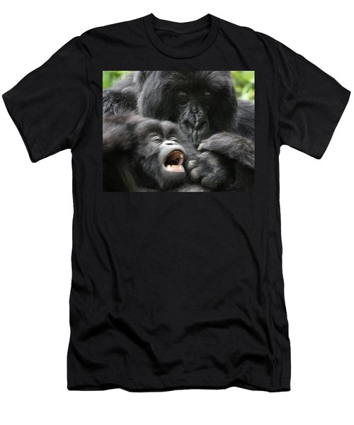 Mountain Gorilla Adf2 Men's T-Shirt (Athletic Fit)