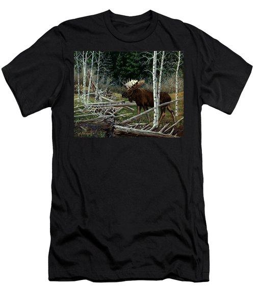 Mountain Monarch Men's T-Shirt (Athletic Fit)