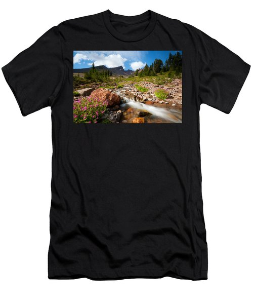Mountain Runoff Men's T-Shirt (Athletic Fit)