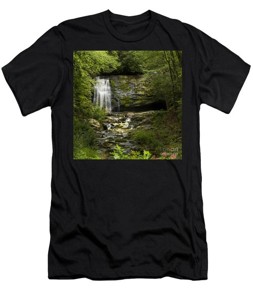 Mountain Stream Falls Men's T-Shirt (Athletic Fit)