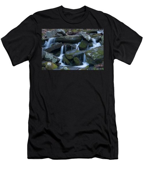 Mountain Stream Men's T-Shirt (Athletic Fit)