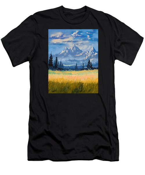Mountain Valley Men's T-Shirt (Athletic Fit)