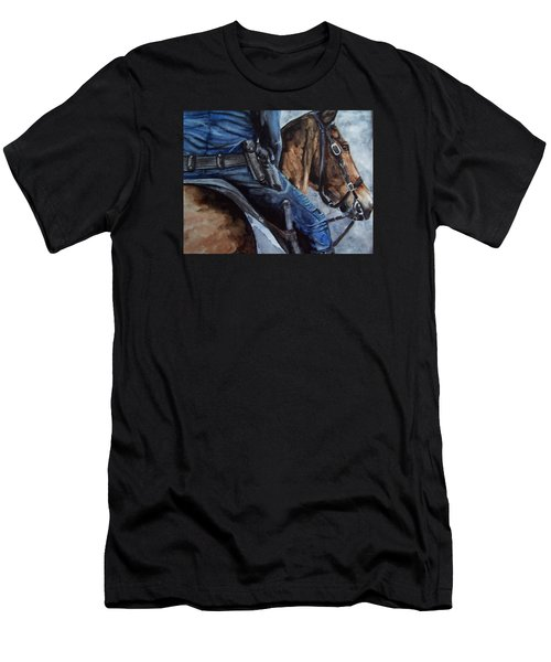Mounted Patrol Men's T-Shirt (Athletic Fit)