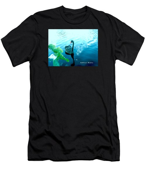 Mourning Swan Song Men's T-Shirt (Athletic Fit)