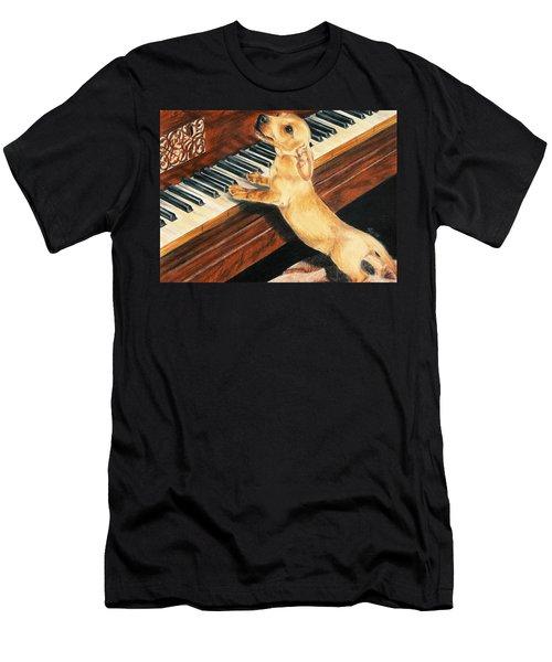 Mozart's Apprentice Men's T-Shirt (Athletic Fit)