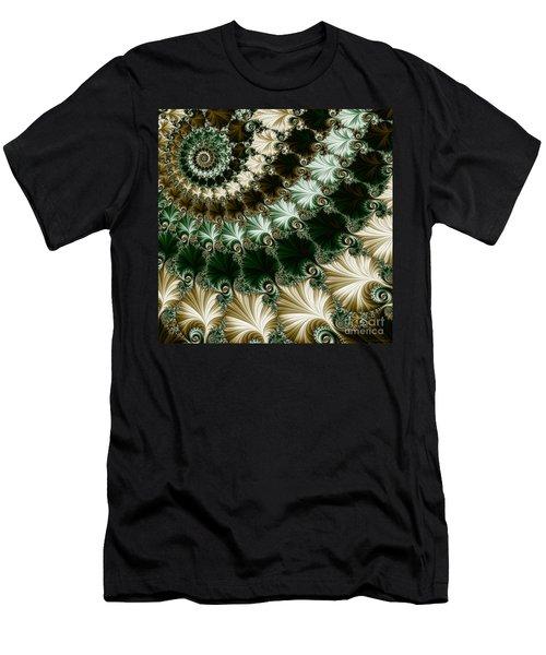 Mozart's Rhythm Men's T-Shirt (Slim Fit) by Mary Machare