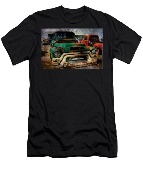 Men's T-Shirt (Slim Fit) featuring the photograph Mr Green 4 Sale by Toni Hopper
