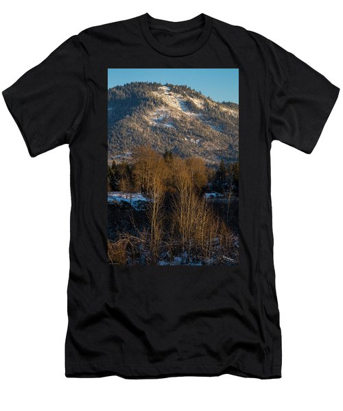 Mt Baldy Near Grants Pass Men's T-Shirt (Slim Fit) by Mick Anderson