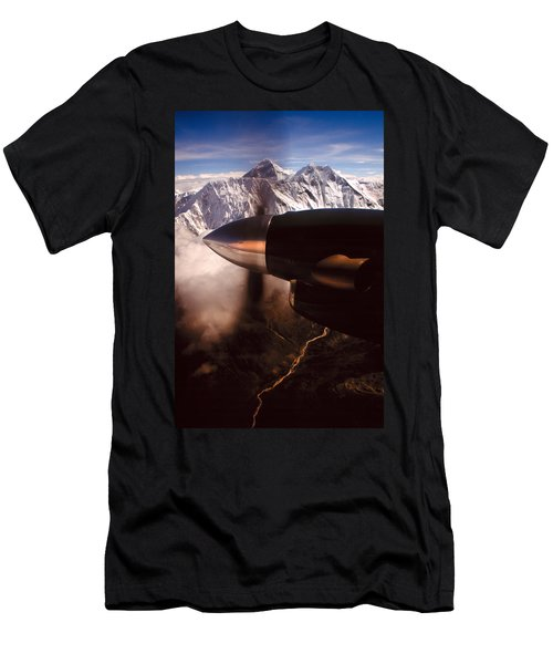 Mt. Everest Men's T-Shirt (Athletic Fit)