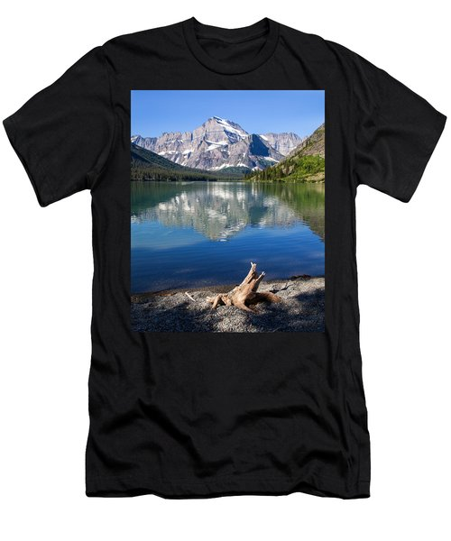 Mt Gould Reflections Men's T-Shirt (Slim Fit) by Jack Bell