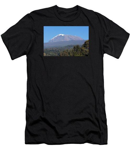 Men's T-Shirt (Athletic Fit) featuring the photograph Mt Kilimanjaro  by Aidan Moran