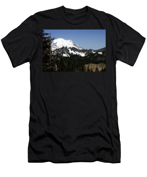 Mt Rainer From Wa-410 Men's T-Shirt (Athletic Fit)
