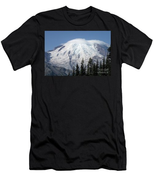 Mt. Rainier In August 2 Men's T-Shirt (Athletic Fit)