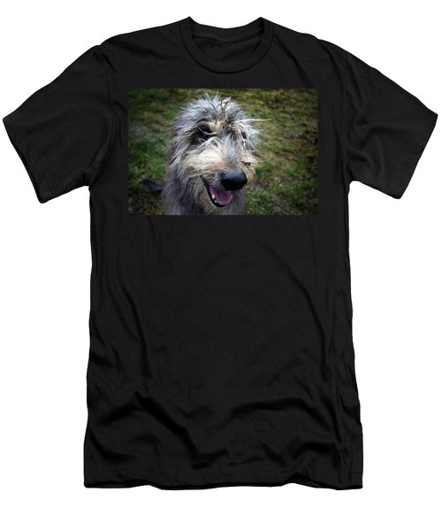 Muddy Dog Men's T-Shirt (Athletic Fit)