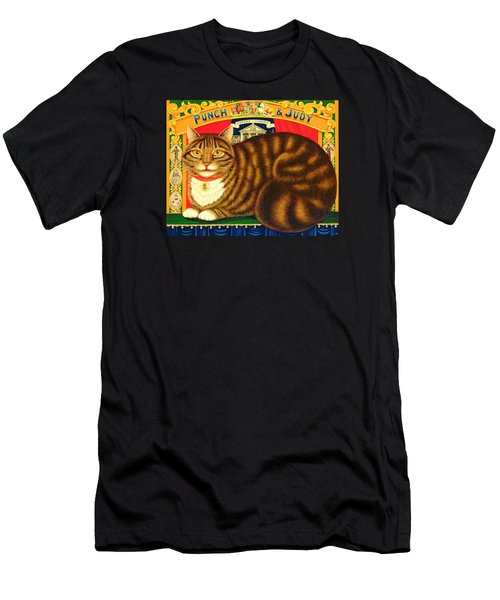 Muffin, The Covent Garden Cat Men's T-Shirt (Athletic Fit)