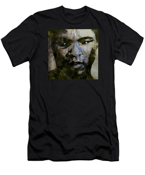 Muhammad Ali  A Change Is Gonna Come Men's T-Shirt (Slim Fit) by Paul Lovering
