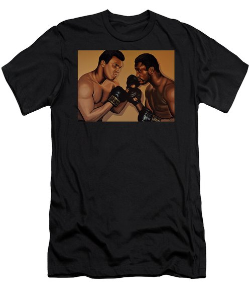 Muhammad Ali And Joe Frazier Men's T-Shirt (Athletic Fit)