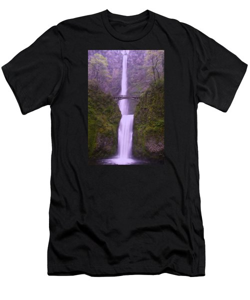 Multnomah In The Drizzling Rain Men's T-Shirt (Athletic Fit)