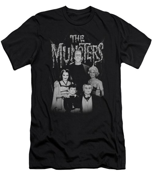 Munsters - Family Portrait Men's T-Shirt (Athletic Fit)